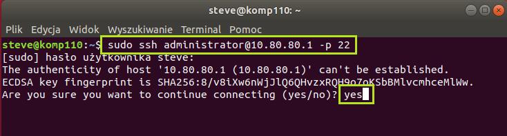 Instalacja serwera FTP